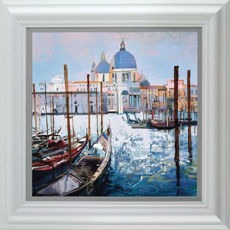 Venetian Vista - Framed  Art Print by Tom Butler