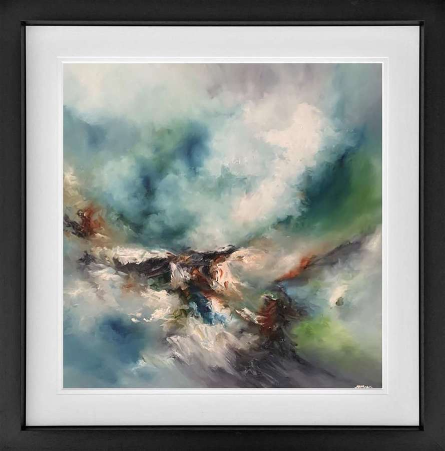 The Journey - Framed Art Print by Alison Johnson