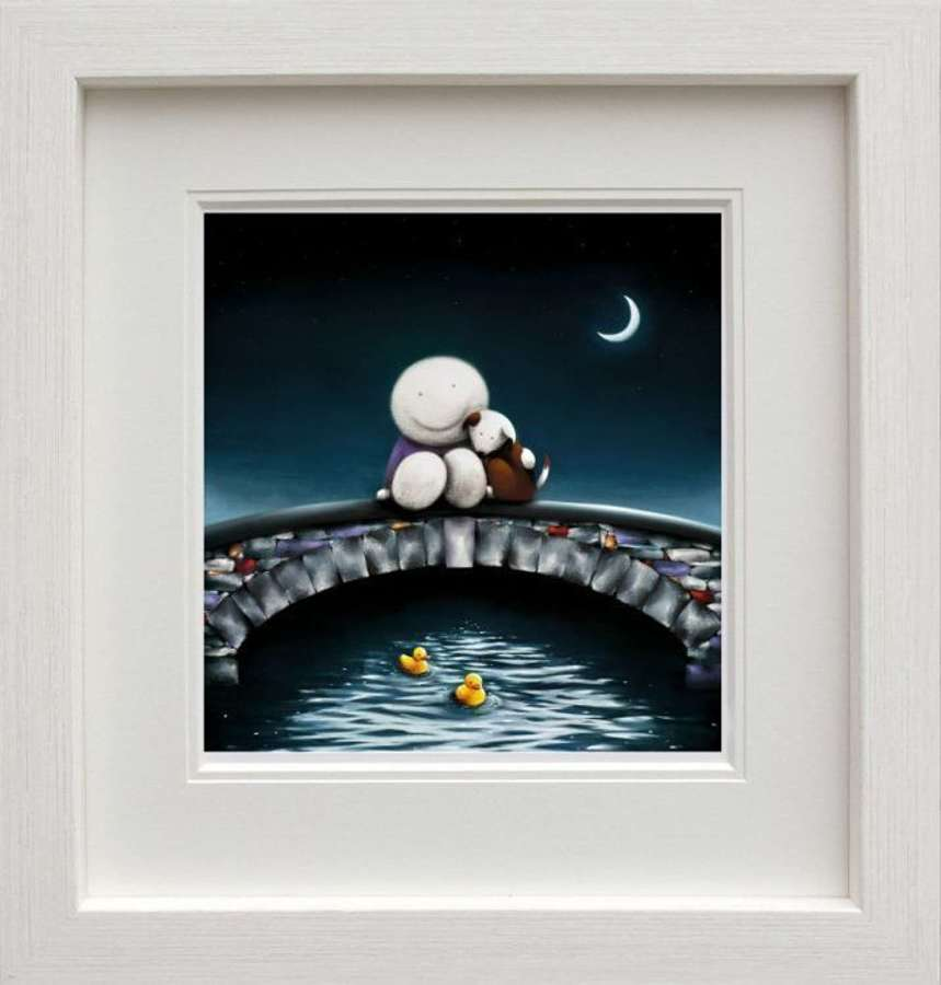 Watching The World Go By - Framed Art Print By Doug Hyde